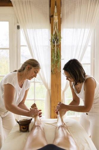 Massage à quatre mains Landes, Pays Basque