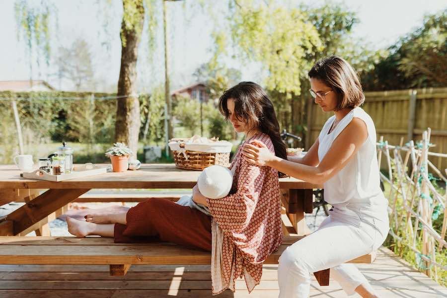 Massage post natal pour jeune maman Landes